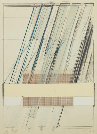 Cy Twombly-Untitled, From Hommage A Picasso-1973