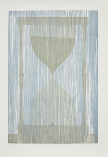 Ed Ruscha-Hourglass-1988