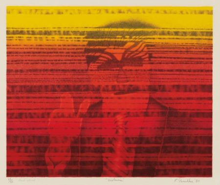 Ed Paschke-Untitled (Violencia)-1980