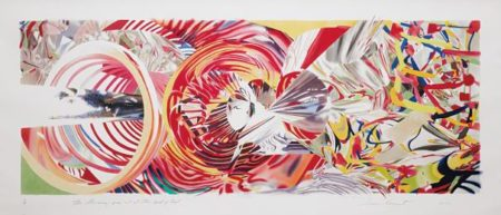 James Rosenquist-The Stowaway Peers Out At The Speed Of Light-2001