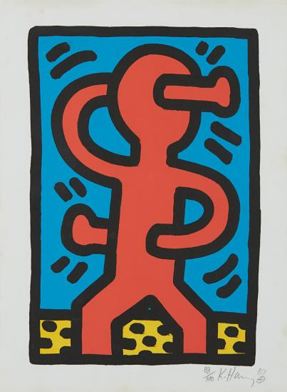 Keith Haring-Untitled, From Untitled-1987