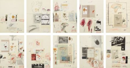 Cy Twombly-Natural History Part I Mushrooms-1974