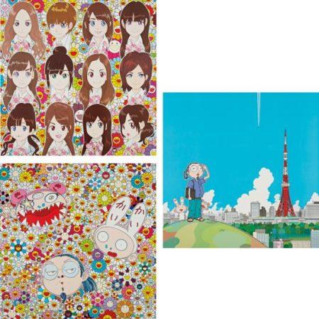 Takashi Murakami-Surprise; Tokyo Tower; And Kaikai Kiki And Me - The Shocking Truth Revealed!-2010