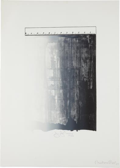 Jasper Johns-Ruler-1966