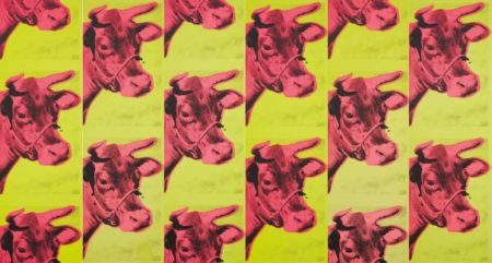 Andy Warhol-Cow Wallpaper, Wall Panels-1966
