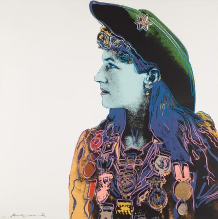 Andy Warhol-Annie Oakley, From Cowboys And Indians-1986