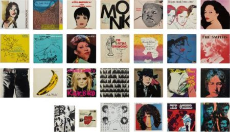 Andy Warhol-A Collection Of Record Covers With Cover Art By Andy Warhol-1987