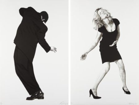 Robert Longo-Raphael; And Barbara, From Men In The Cities-1998