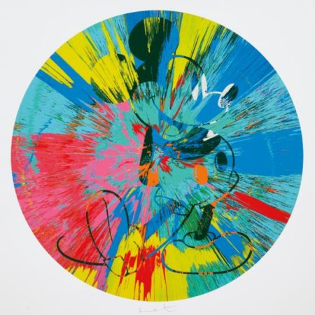 Damien Hirst-Beautiful Mickey-2015