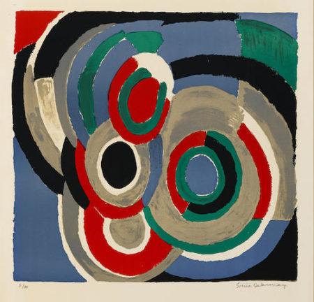 Sonia Delaunay-Untitled-1970