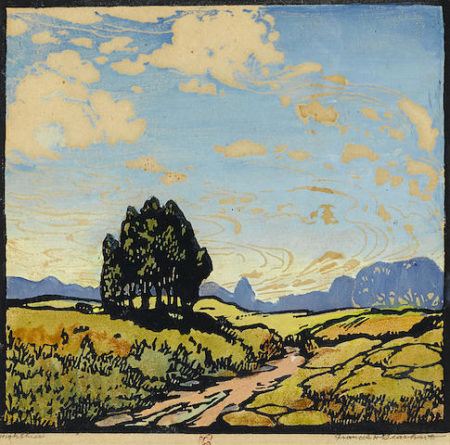 Frances Hammell Gearhart-High Skies-1922
