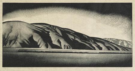 Paul Landacre-Coachella Valley-1936