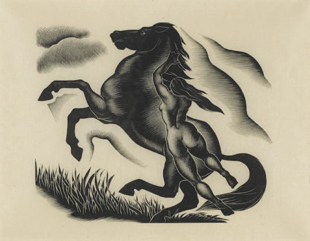 Paul Landacre-Black Stallion-1940