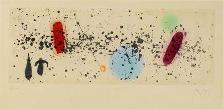 Joan Miro-Ouvrage du vent II-1962