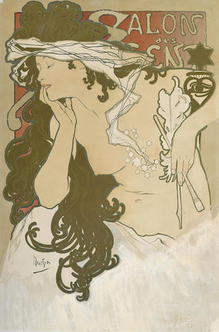 Alphonse Mucha-Salon des Cent-1897