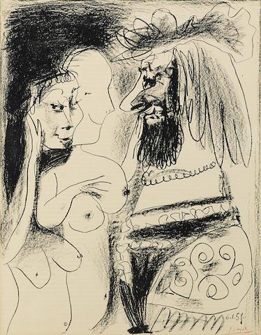 Pablo Picasso-Le Vieux Roi-1959