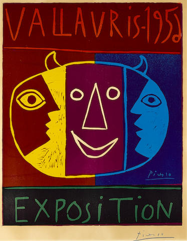 Pablo Picasso-Vallauris 1956 Exposition-1956