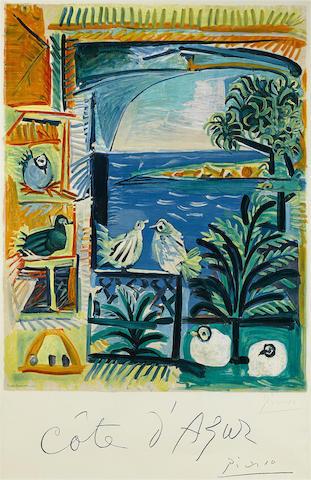 Pablo Picasso-After Pablo Picasso - Cote D'Azur-1962