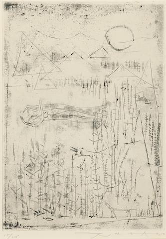 Zao Wou-Ki-Bain de soleil-1950