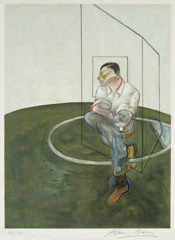 Francis Bacon-Study for a Portrait of John Edwards (Right Panel)-1984