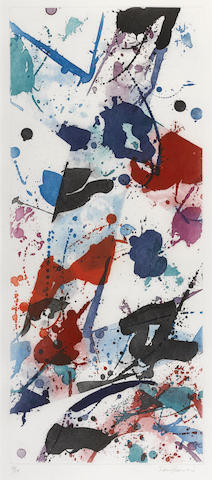 Sam Francis-Untitled (L. 147; SFE-014)-1984