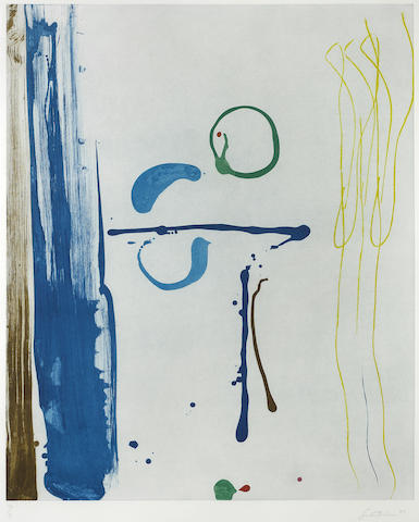 Helen Frankenthaler-Sunshine after Rain-1987