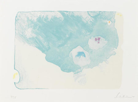 Helen Frankenthaler-Reflections VII, from Relfections-1995