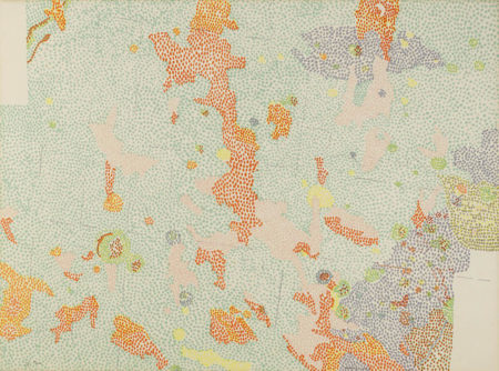 Nancy Graves-Plate III; VI, from Lithographs Based on Geologic Maps of Lunar Orbiter and Apollo Landing Sites-1972