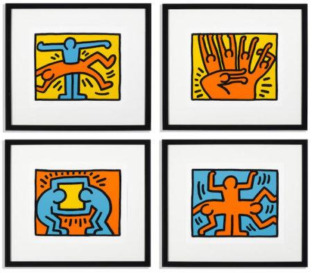 Keith Haring-Pop Shop VI-1989