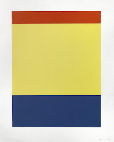 Ellsworth Kelly-Red/Yellow/Blue-2000