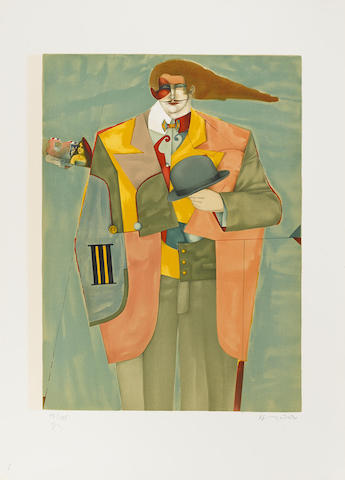 Richard Lindner-Untitled-1975
