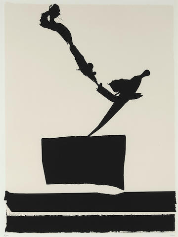 Robert Motherwell-Africa #5, from African Suite-1970