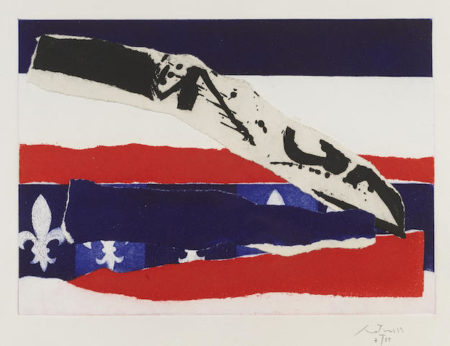 Robert Motherwell-French Revolution Bicentennial Suite IV-1988