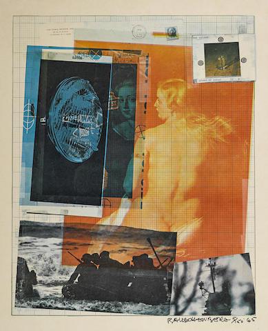 Robert Rauschenberg-Paris Review-1965