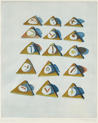 Triangle Thins, from Seven Still Lifes and a Silver Landscape-1971
