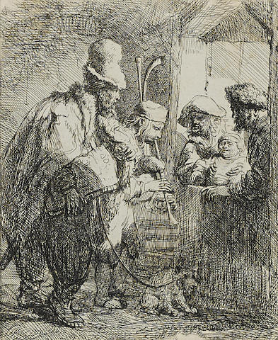 The Strolling Musicians-1635