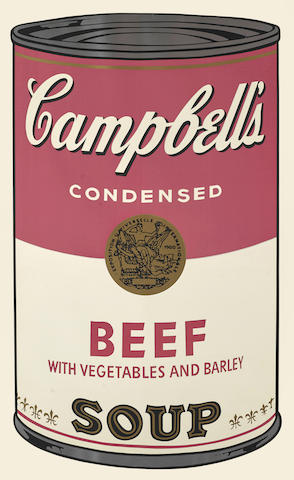 Andy Warhol-Beef, from Campbell's Soup I-1968