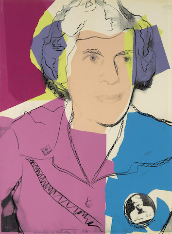 Andy Warhol-Lillian Carter-1977