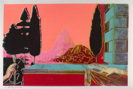 Andy Warhol-Details of Renaissance Paintings (Leonardo da Vinci: The Annunciation, 1472)-1984