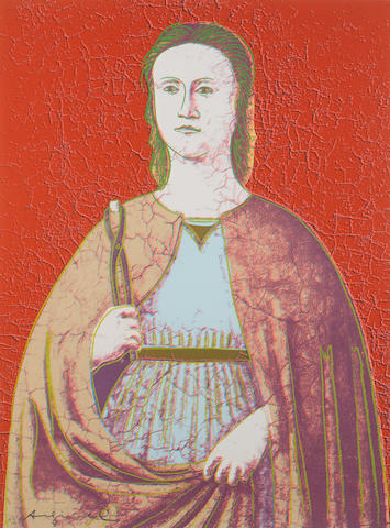 Andy Warhol-Saint Apollonia-1984
