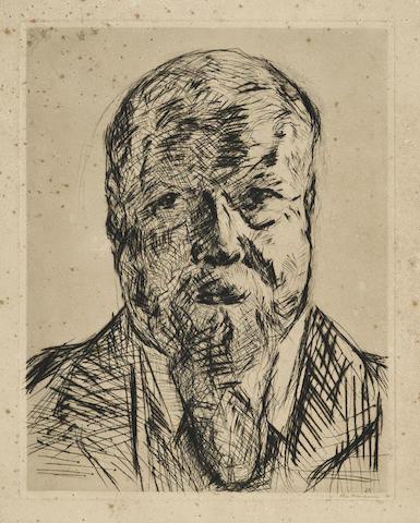 Max Beckmann-Geheimrat Robert-1914