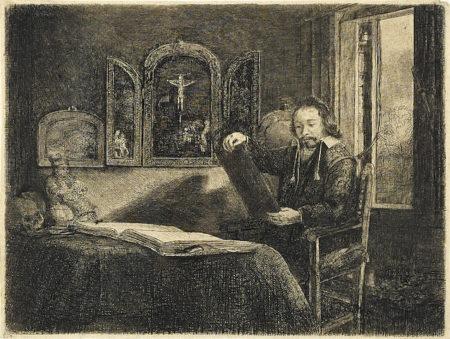 Rembrandt van Rijn-Abraham Francen, Apothecary-1657