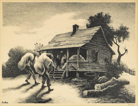 Thomas Hart Benton-Back from the Fields-1945