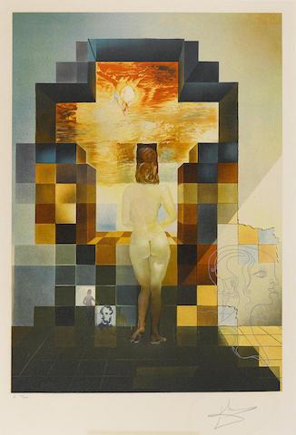 Salvador Dali-Lincoln in Dalivision; Dali's Inferno-1978