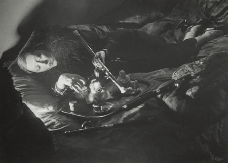 Brassai-A Female Habituee in an Opium Den-1932