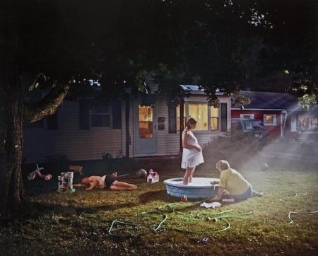 Gregory Crewdson-Untitled (Pregnant Woman/Pool), 1999, from Twilight Series-2002