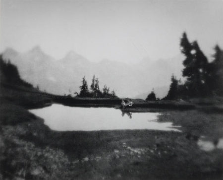 Imogen Cunningham-On Mt. Rainer 2-1915