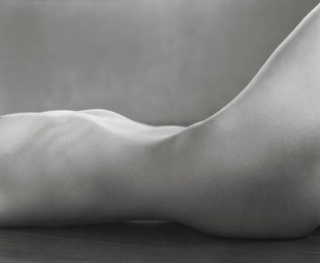 Edward Weston-Torso (Nude Study of Miriam Lerner)-1925