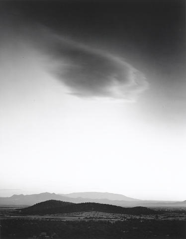 Paul Caponigro-Cloud and Tree, San Sebastian, N.M.; Cloud, San Sebastian, N.M. 2-1982