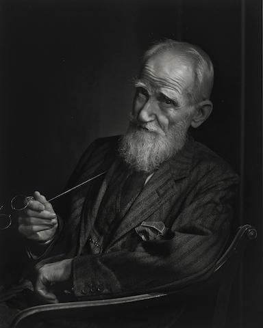 Yousuf Karsh-George Bernard Shaw-1943